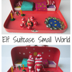 Elf Suitcase Small World