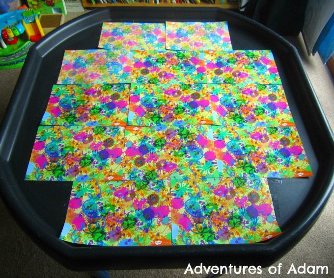 Adventures of Adam Firework tuff spot mat