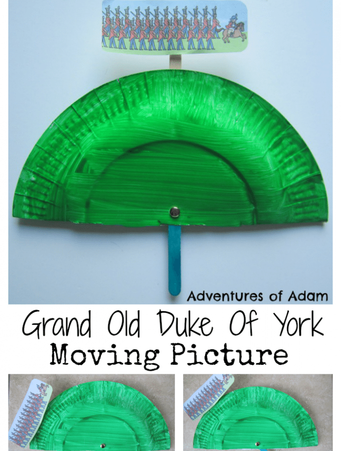 Grand Old Duke Of York Moving Picture