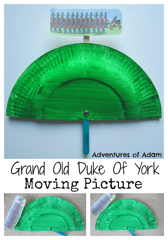 Adventures of Adam Grand Old Duke Of York moving picture