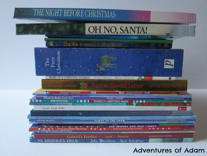 Great childrens books to use in a book advent calendar