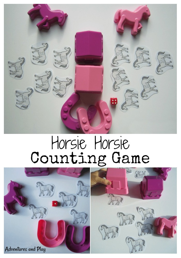 Horsie Horsie Counting Game