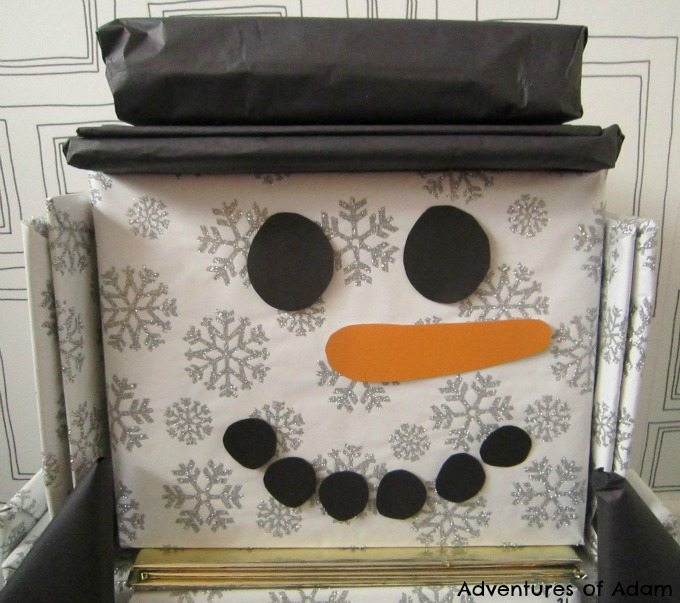 How to make a snowman advent