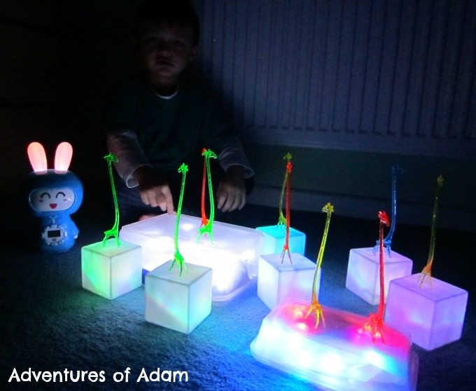 Adventures of Adam Personalised music player for toddlers