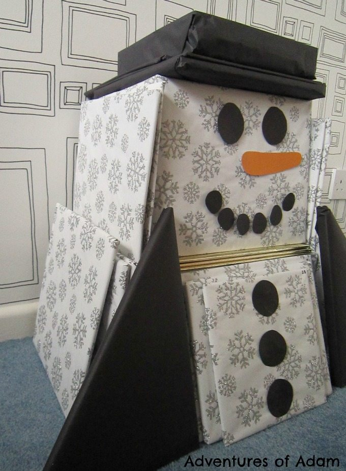 Snowman book advent