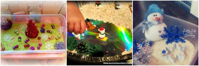 sensory bin gift ideas for Christmas