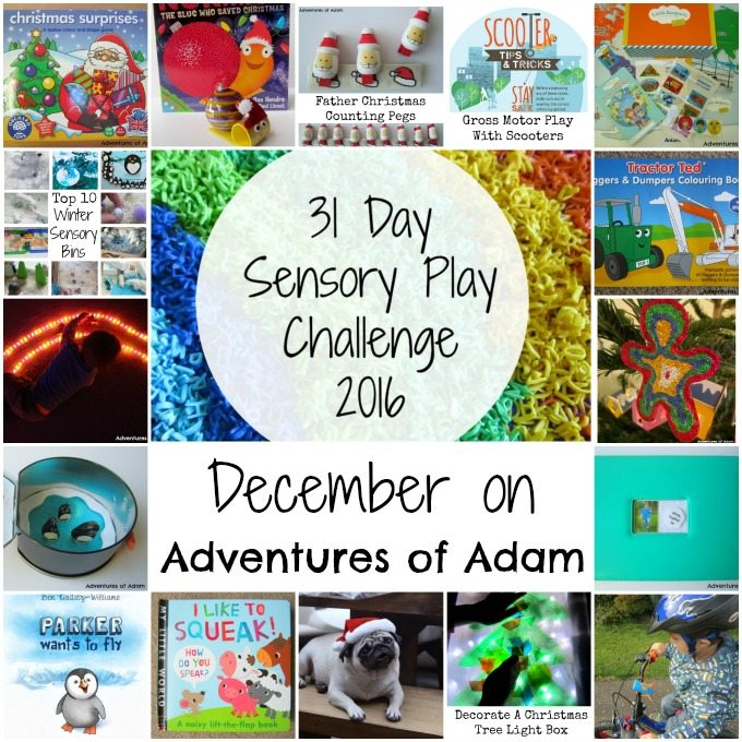 December on Adventures of Adam