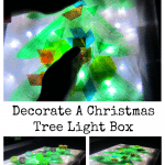 Decorate A Christmas Tree Light Box