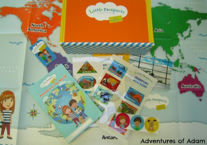 Inside Little Passports Early Explorers pack