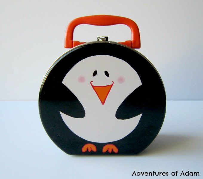 Penguin busy bag