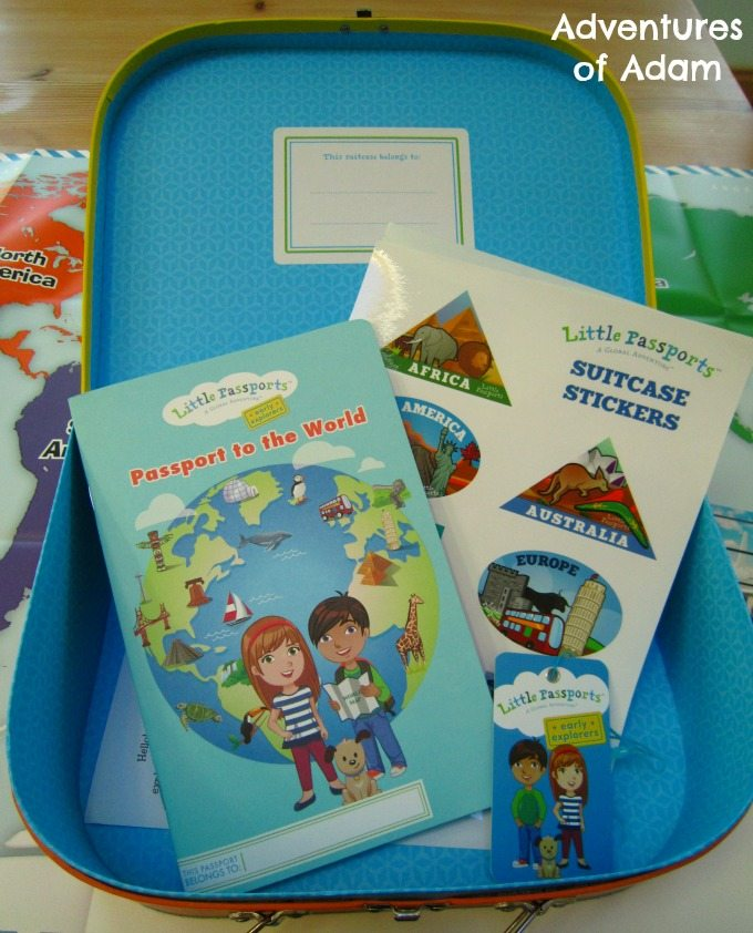 Preschool pack about the world
