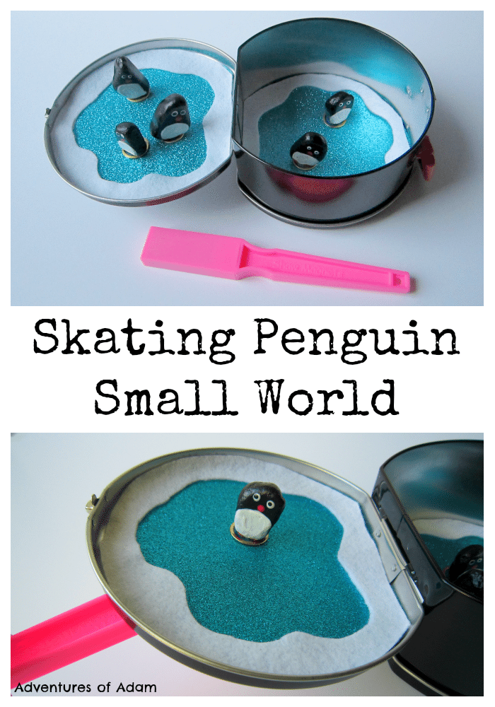 Skating Penguin Small World