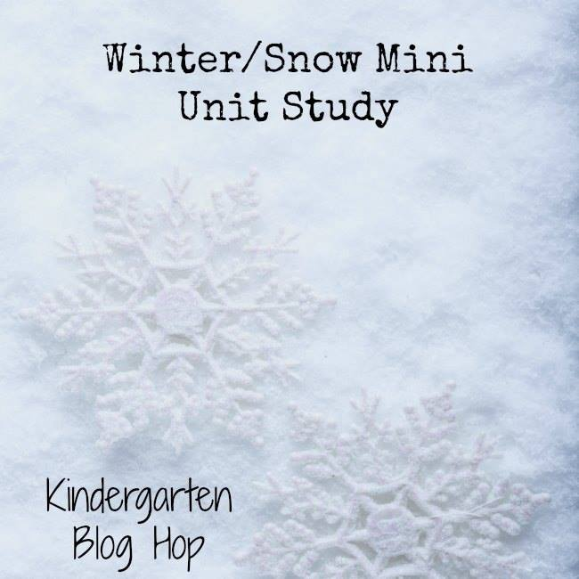 Winter snow mini unit study