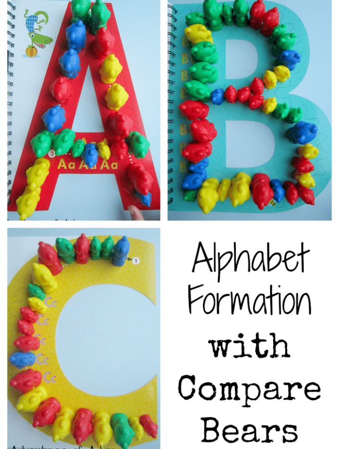 Alphabet Formation Compare Bears