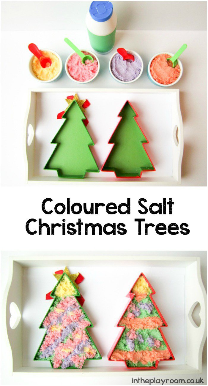 Coloured-Salt-Christmas-Trees-Activity