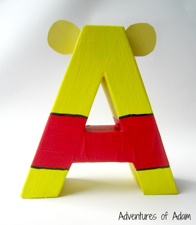 Create your own Winnie The Pooh letters