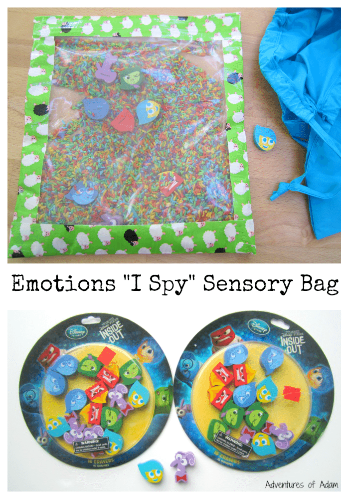 Emotions I Spy Sensory Bag