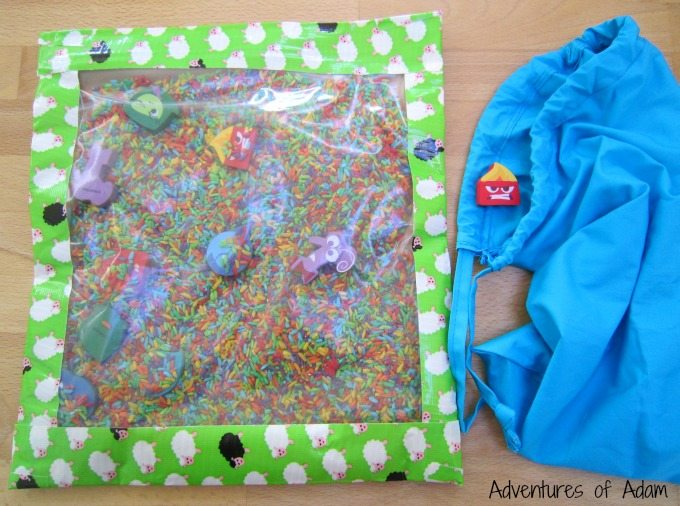 Emotions sensory bag