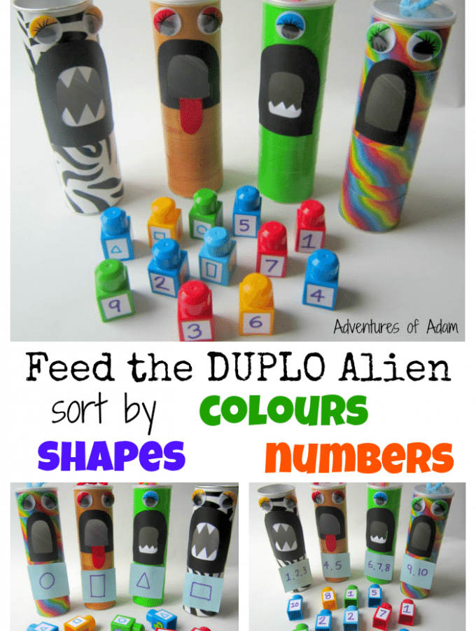 Feed the Duplo Alien
