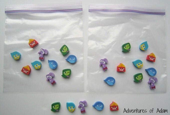 Inside Out sensory bag