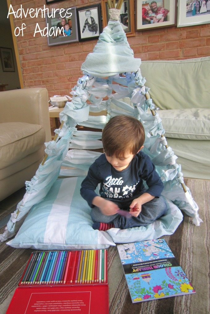 Quilt cover teepee