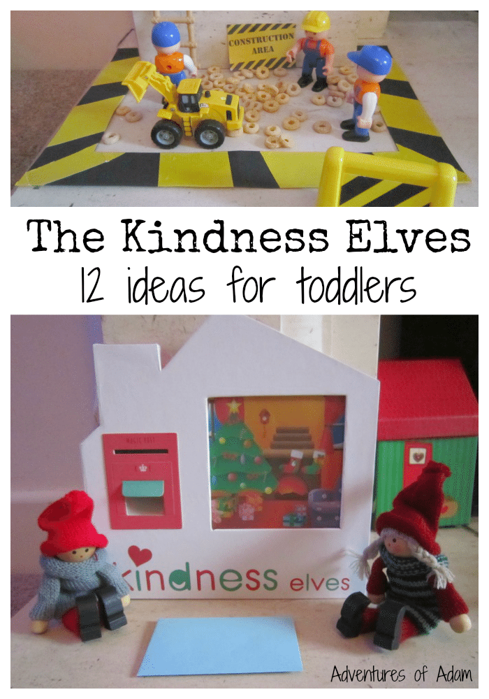 The Kindness Elves 12 ideas for toddlers