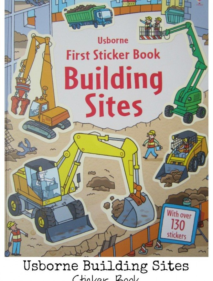 Usborne Building Sites Sticker Book