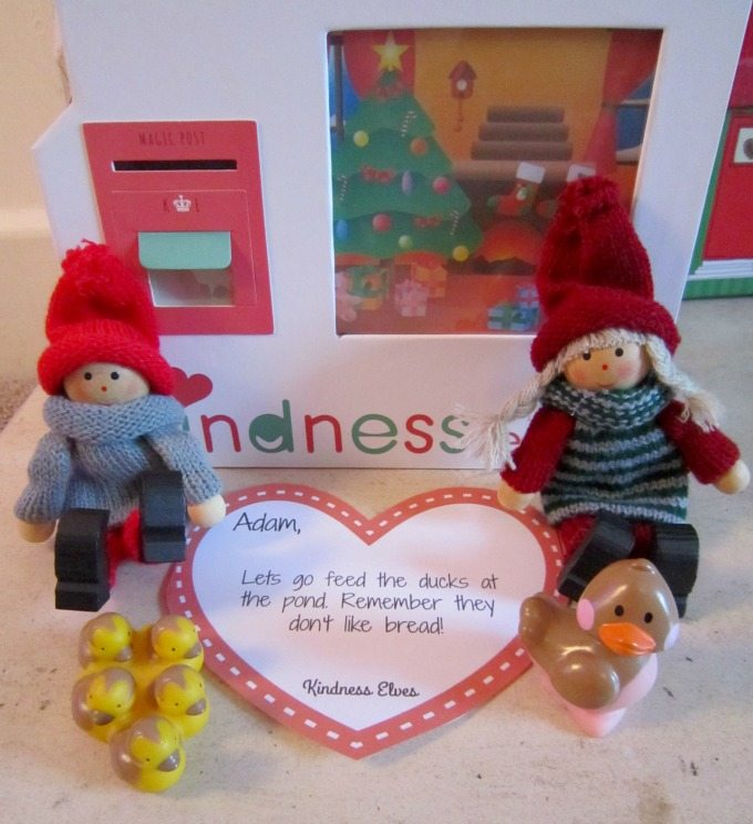 Kindness Elves Feeding the ducks