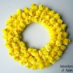 DIY Easter Chick Wreath