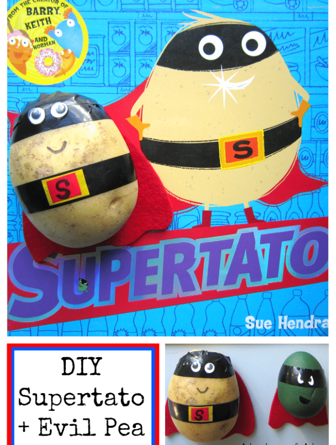 DIY Supertato and Evil Pea