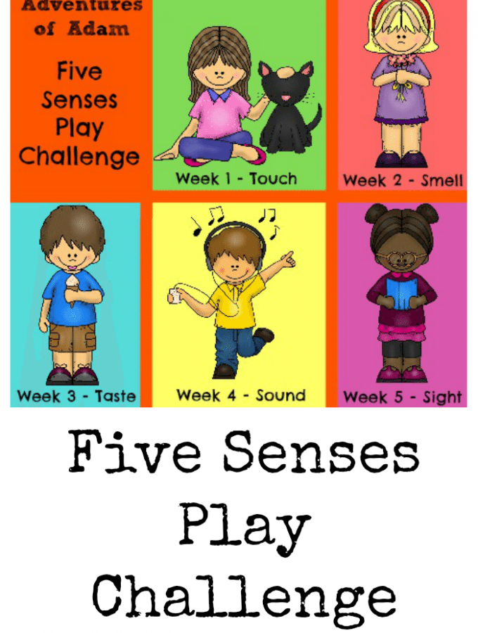 Five Senses Play Challenge 2016