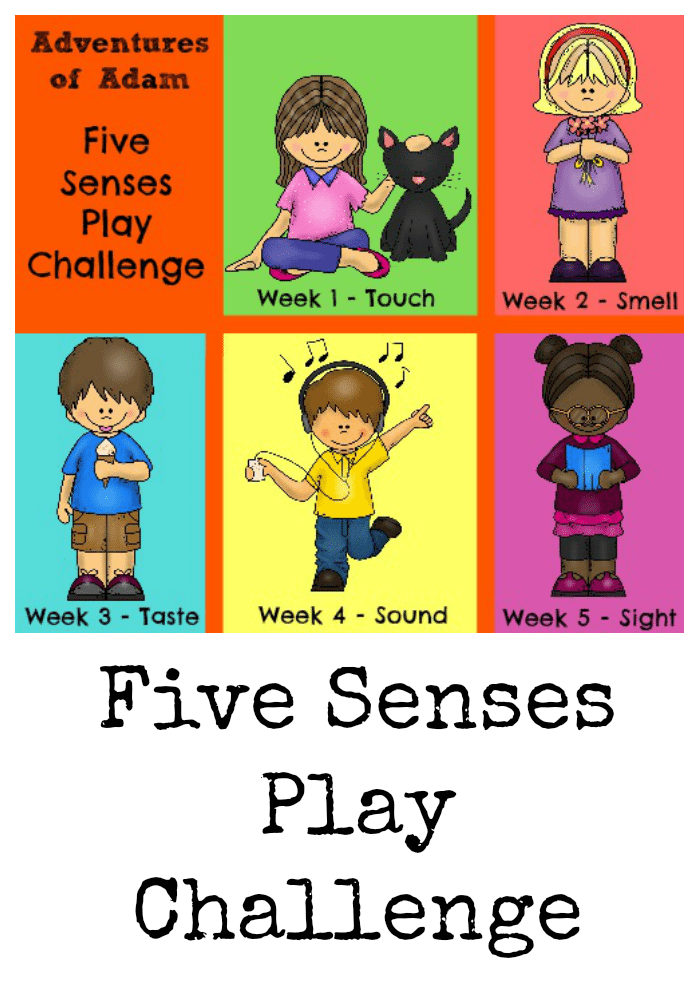 Five Senses Play Challenge logo