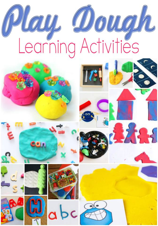 Play Dough Learning Tools