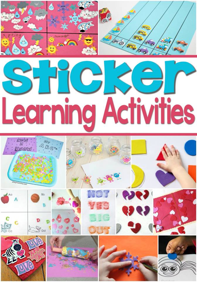 Sticker Learning Activities