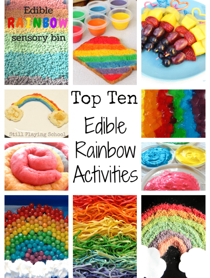 Top 10 Edible Rainbow Activities