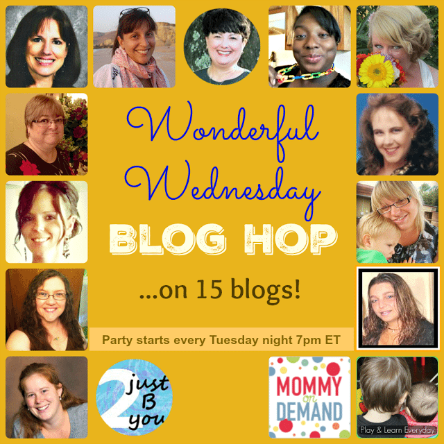 Wonderful Wednesday Blog Hop Feb