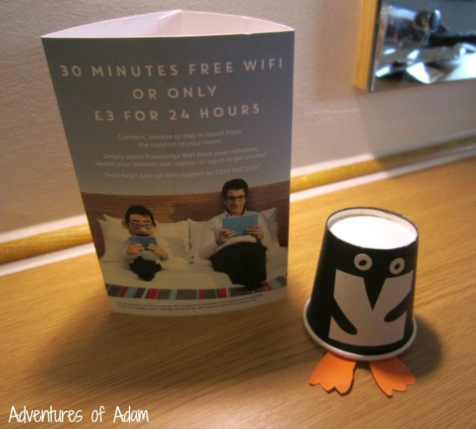 365 Penguin in Travel Lodge