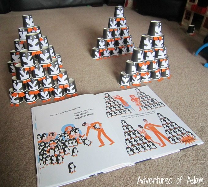 4 lots of penguins