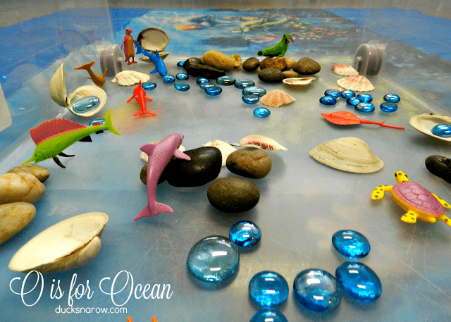 A O is for Ocean Fizzing Activity