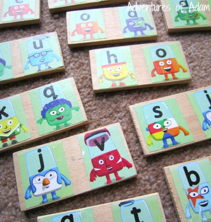 Alphabet Dominoes