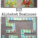 DIY Alphabet Dominoes