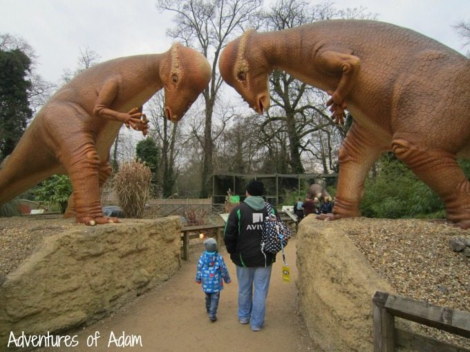 Dino Trail at Thomas Land Drayton Manor Theme Park