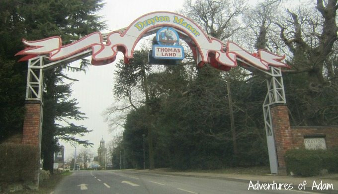 Drayton Manor Theme Park entrance