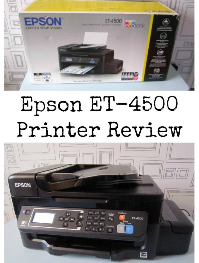 Epson ET-4500 Printer Review