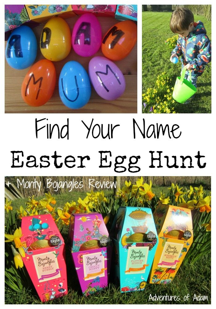 Find Your Name Easter Egg Hunt