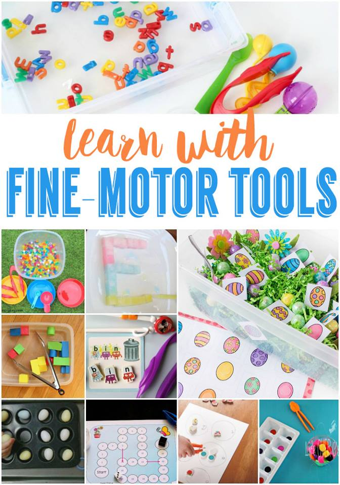 Learn with Fine Motor Tools