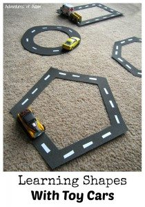 Learning Shapes With Toy Cars