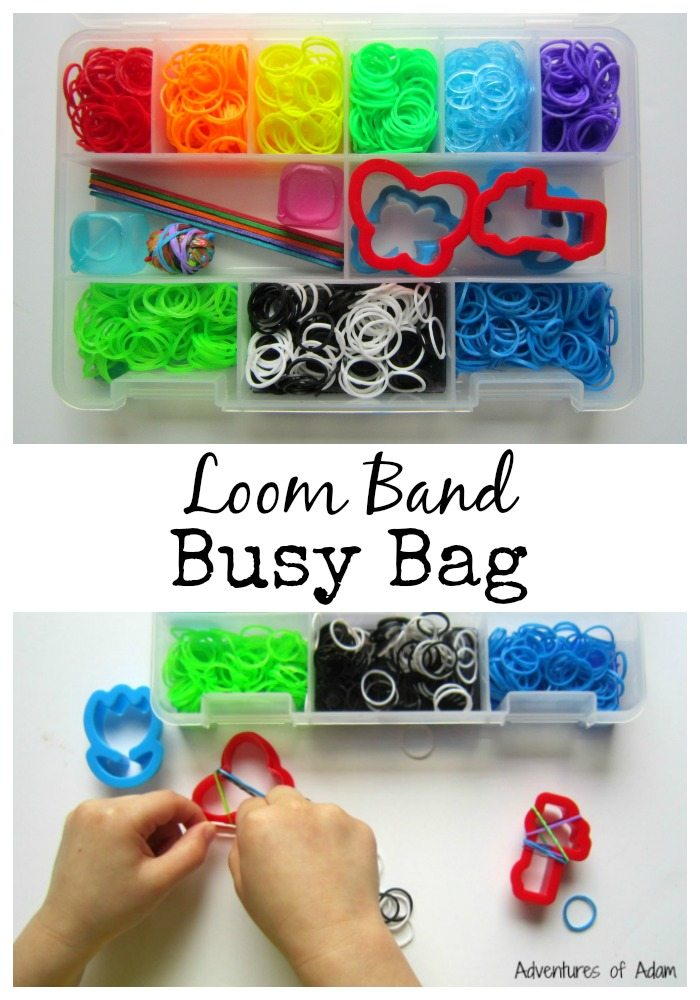 Loom Band Busy Bag