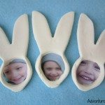 Photo keepsake Easter Bunnies