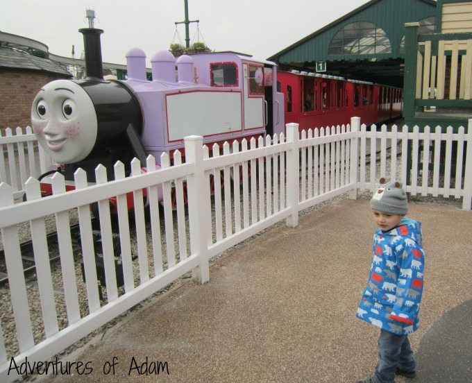 Rosie at Thomas Land